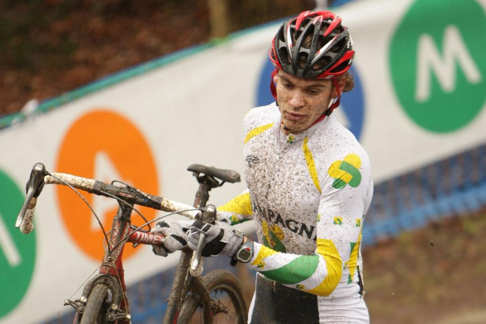 Aurélien Duval était avant tout un spécialiste du cyclo-cross