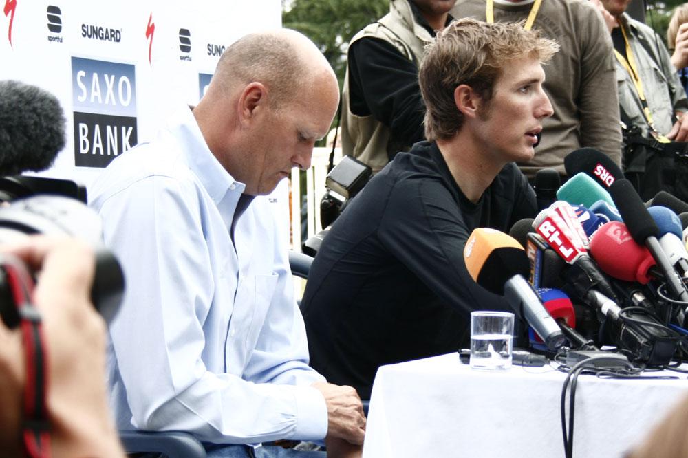 Bjarne Riis devra composer sans les frères Schleck en 2011