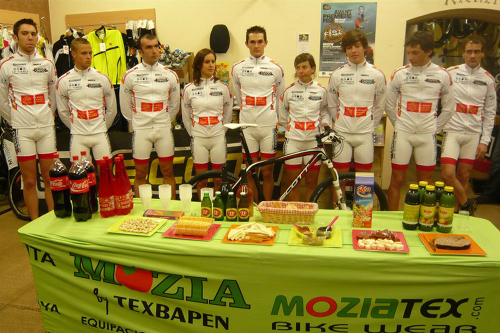 Le Team Calvisson VTT