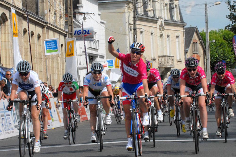 Christel Ferrier-Bruneau peut exulter, elle vient de remporter la Coupe de France