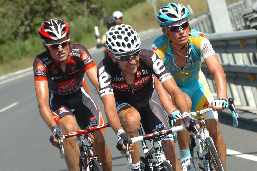 Un trio royal se dégage avec Luis-Leon Sanchez, Carlos Sastre et Alexandre Vinokourov