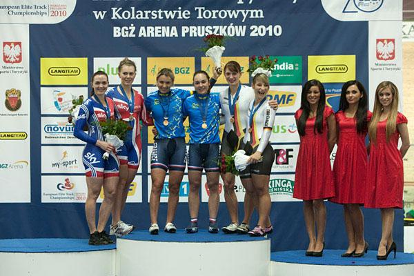 Sandie Clair et Clara Sanchez championnes d'Europe de vitesse par équipes