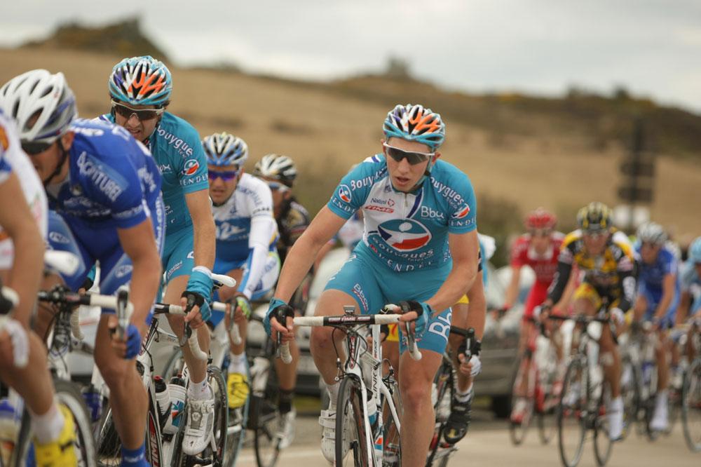 Les coureurs du Tour du Finistère