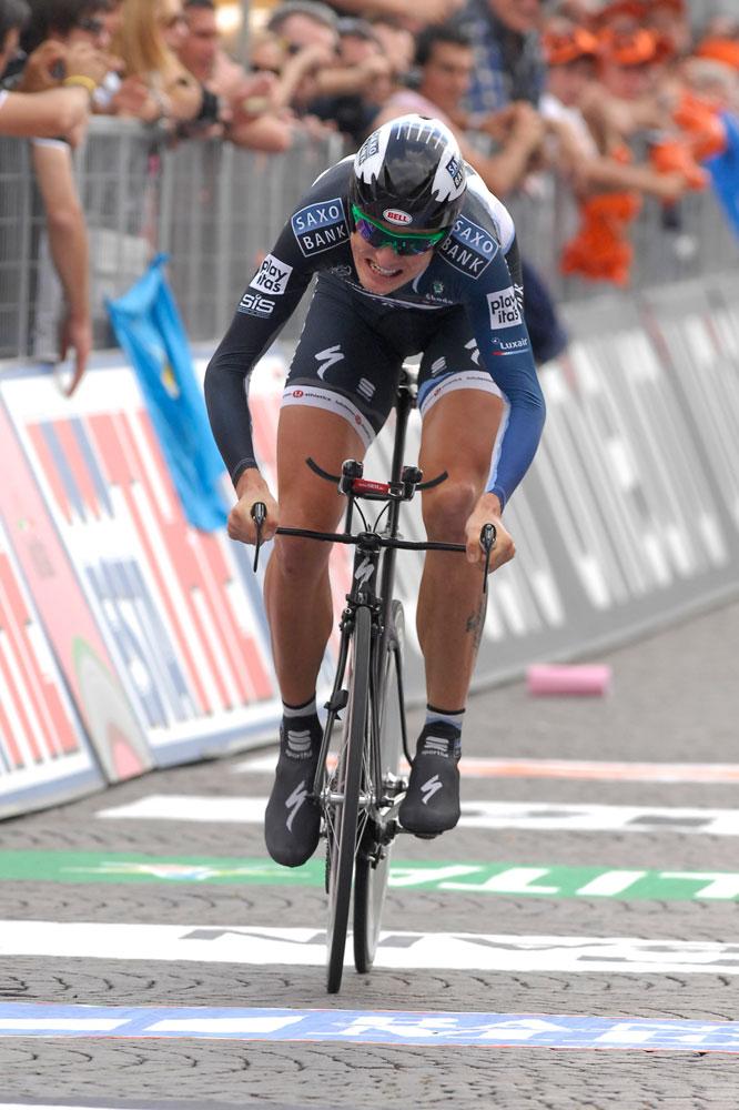 Gustav-Erik Larsson remporte le contre-la-montre final