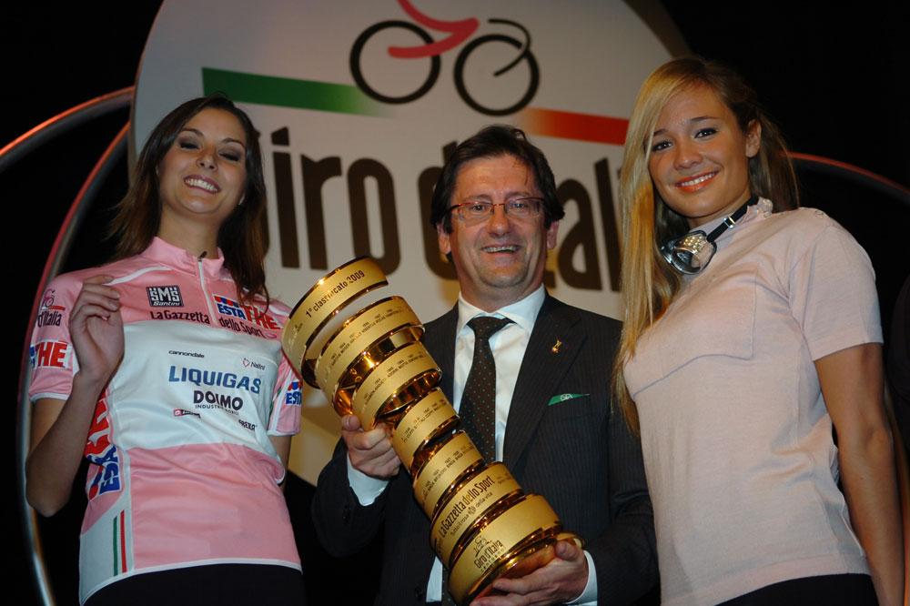 A qui le trophée du Giro ?