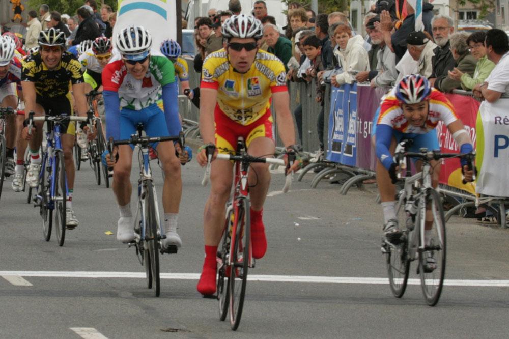 Julien Duval est le premier champion de France de l'omnium