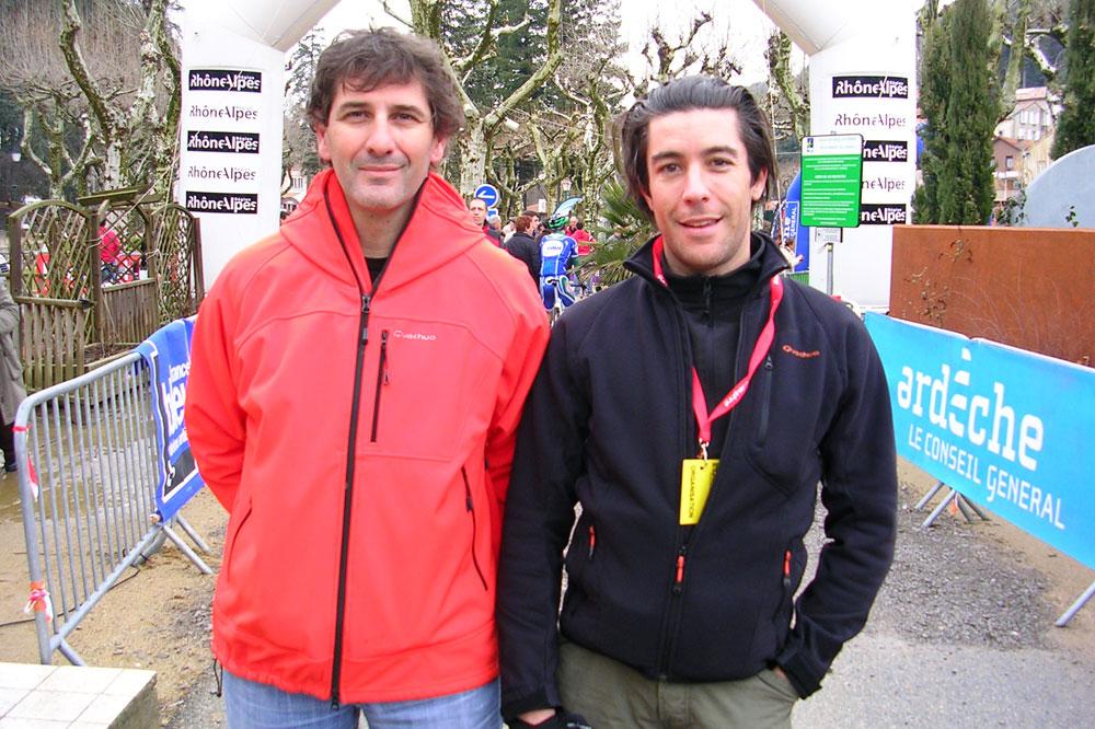 Stéphane Labourdette et Laurent Frizet