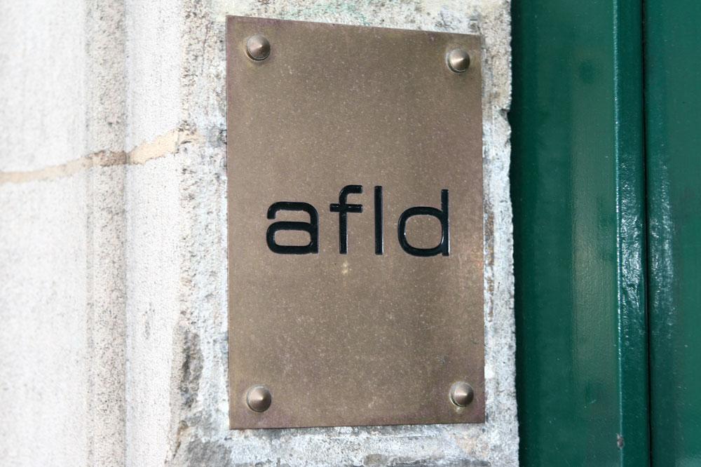 Le logo de l'Agence Française de Lutte contre le Dopage