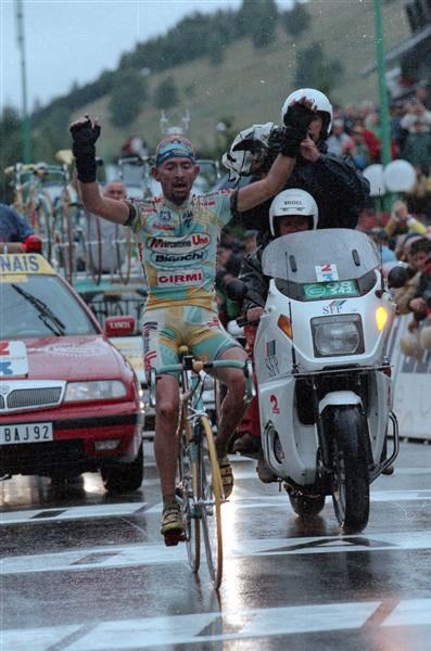 La victoire mythique de Marco Pantani dans le Tour de France 1998