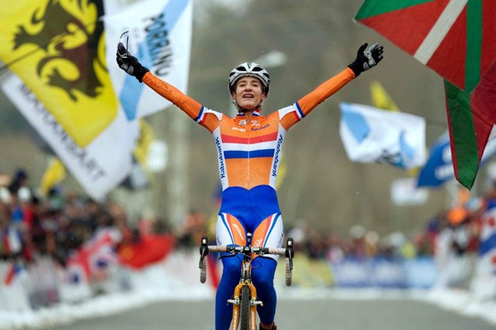 Marianne Vos conquiert un troisième titre mondial de cyclo-cross