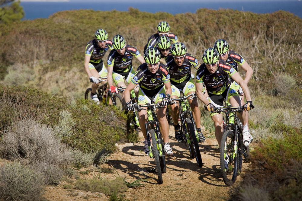 Le team Multivan Merida Biking Team 2010