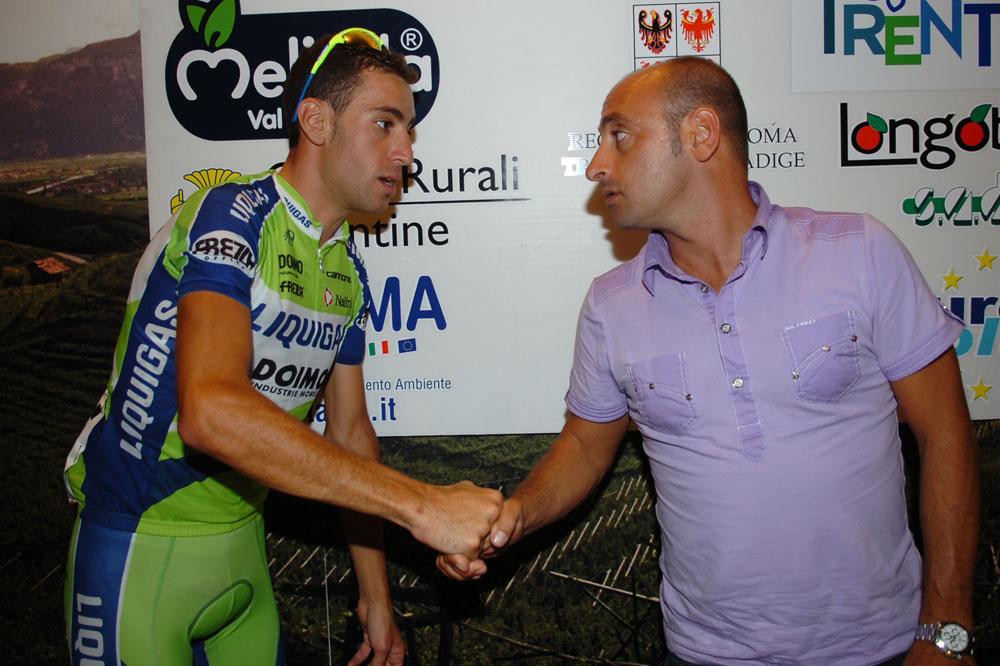 Nibali et Bettini : une poignée de main pleine de promesses ?
