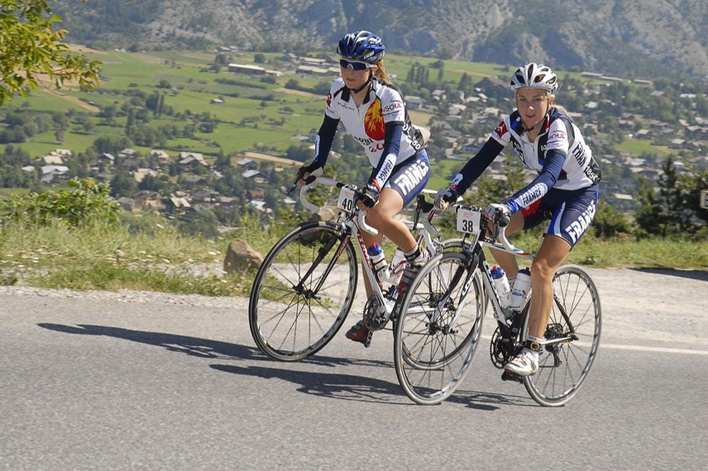Alexia Muffat et Pauline Ferrand-Prevot ne se livrent pas à fond vers Risoul