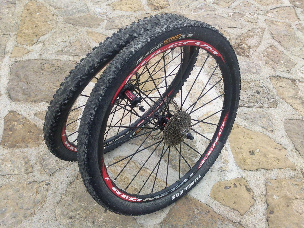 Les roues Fulcrum Red Metal Zero