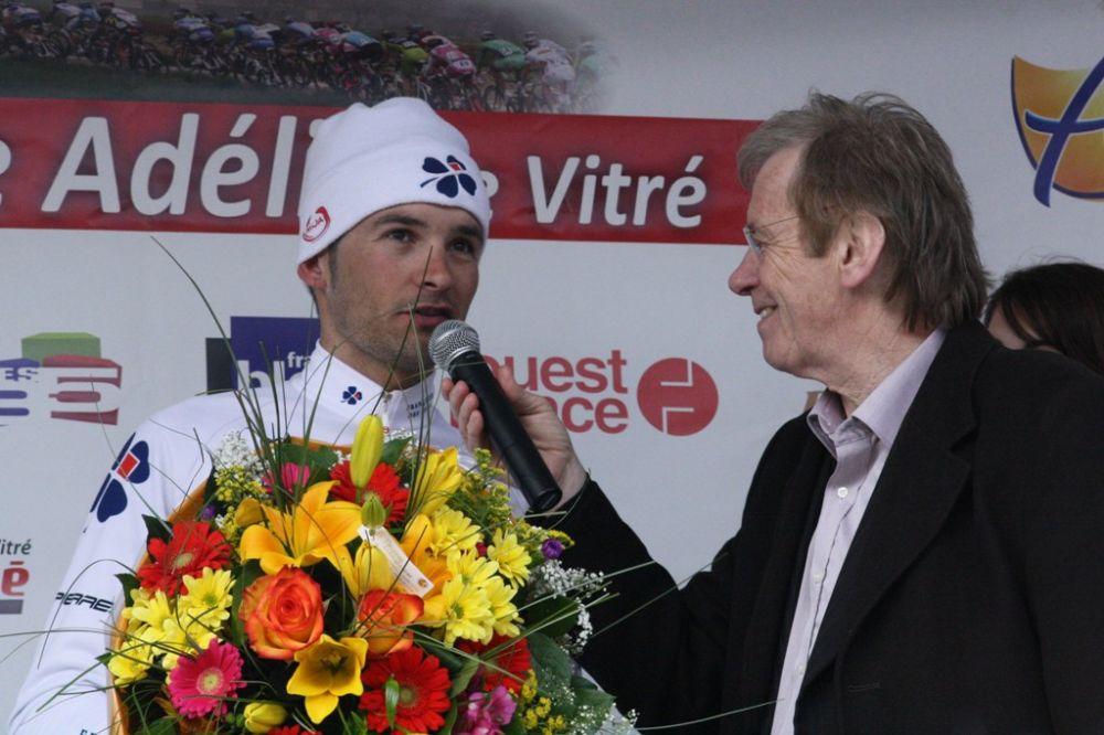 Benoît Vaugrenard au micro de Daniel Mangeas