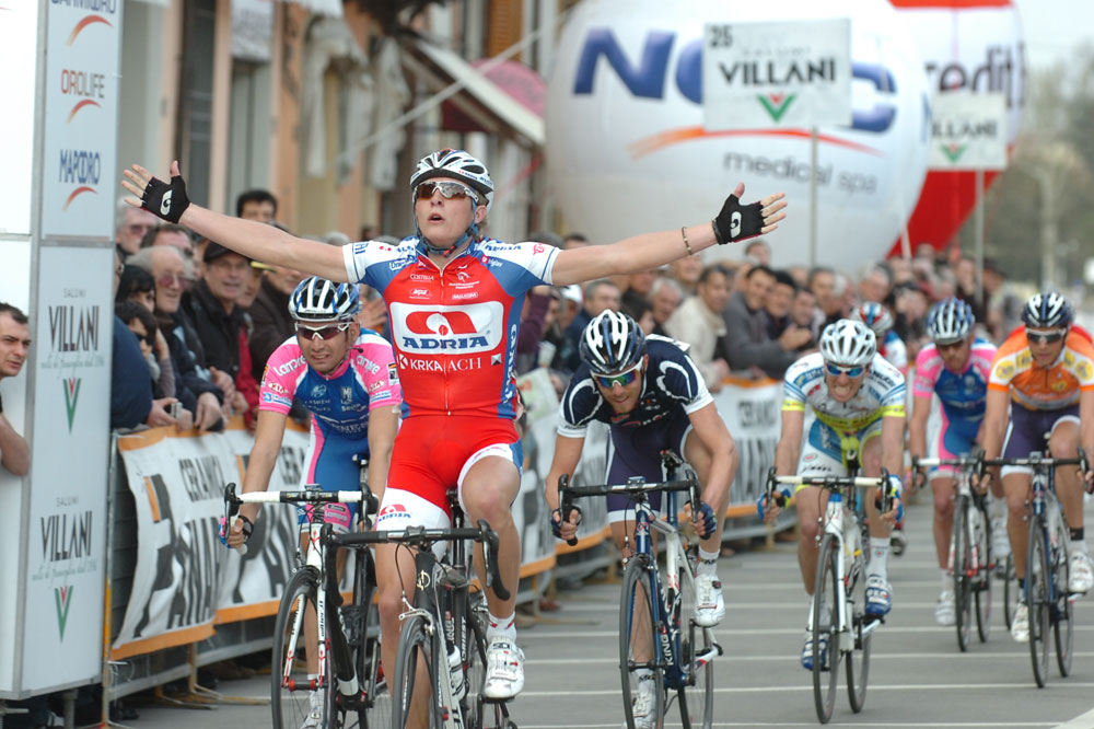 Marko Kump vainqueur au sprint