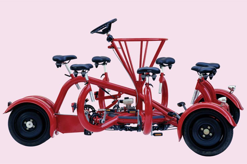 Le Co-Bi, un vélo vraiment pas commun