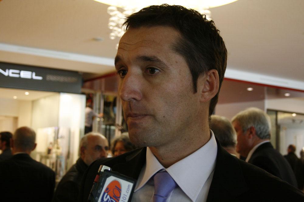 Stéphane Heulot, manager de Saur-Sojasun