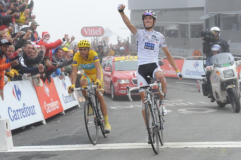 Andy Schleck glane son deuxième succès sur ce Tour de France