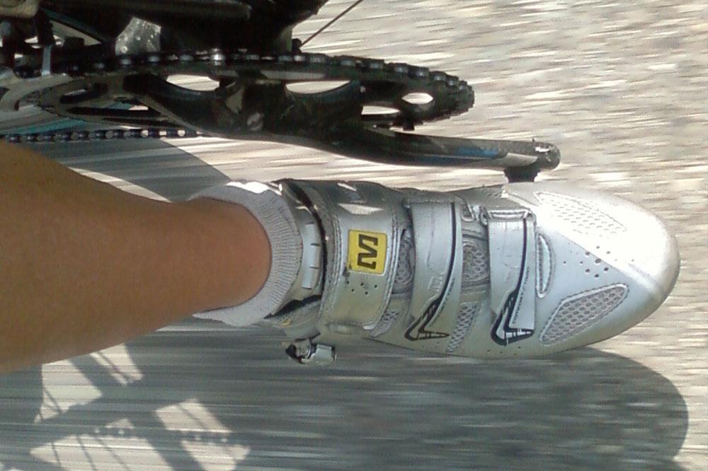 Conçue pour des cyclistes recherchant une chaussure légère et un maintien du pied optimal