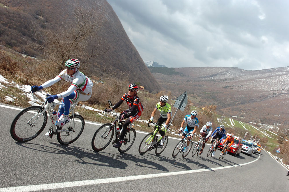 Filippo Pozzato emmène l'échappée du jour