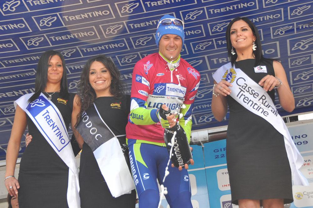 Dans le Trentin, Ivan Basso revient tester sa condition