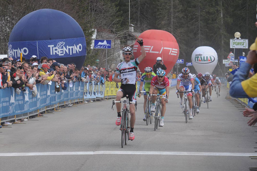 Riccardo Ricco vainqueur au Tour du Trentin
