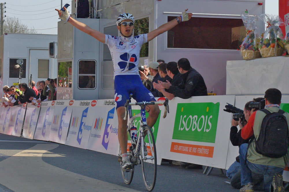 Jérémy Roy vainqueur du Tro Bro Léon