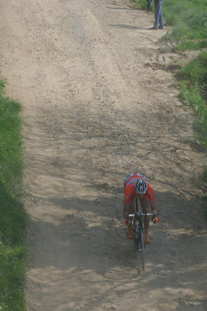 34200 mètres de ribinou sur le Tro Bro Léon, ici Benoît Daeninck