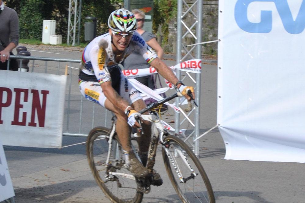 Le champion du monde Zdenek Stybar