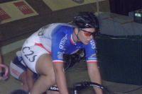 Linda Michelini lors de la course aux points