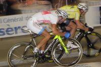 Cicccone face à Madsen lors d'un sprint classement