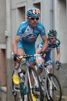 Anthony Charteau serein en tête de course