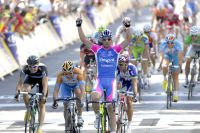 Alessandro Petacchi fait coup double à Reims