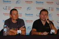 Lance Armstrong et Johan Bruyneel