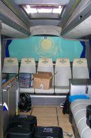 Le fond du bus des Astana
