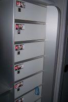 Chaque coureur de Cervélo possède son casier personnel