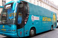 Le bus de l'équipe Astana