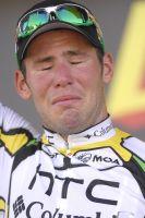 Touché par les nombreuses critiques, Cavendish craque sur le podium protocolaire