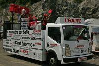 La caravane L'Equipe