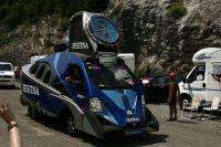 Festina clôt la caravane publicitaire du Tour de France 2010