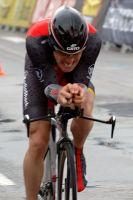 Levi Leipheimer battu mais placé sur le chrono du Tour de Catalogne