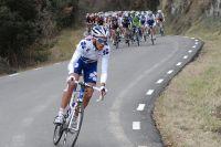 Les Français sont offensifs dans les montagnes catalanes, ici Rémy Di Gregorio