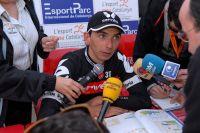 Xavier Tondo raconte sa course à la presse