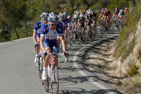 Le Team Katusha protège le maillot de Joaquin Rodriguez