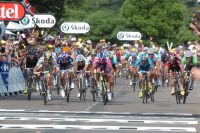 Cavendish mène un sprint limpide