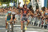 Luis-Leon Sanchez est le plus rapide le long de la baie de San Sebastian