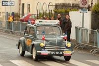 La voiture ouvreuse de la Classic Loire-Atlantique