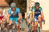 Pierrick Fédrigo et Laurent Mangel mènent la tête course