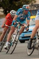 Guillaume Le Floch peut espérer un podium à deux tours de l'arrivée